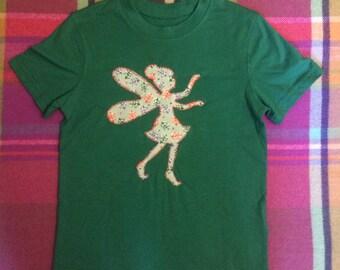 Fairy, applique 100% cotton, t-shirt