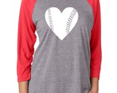 Baseball Mom Shirts. Baseball Mom Tee. Baseball Shirt. Baseball Raglan Shirt. Baseball Girlfriend Tshirt. Baseball Heart Slouchy Shirt
