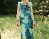 Size Medium...Tie Dye Maxi Dress... Summer Daydreamer Gear Extraordinaire