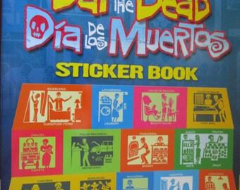 Day of the Dead Dia de Los Muertos sticker book #321