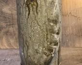 Wood Fired Salt Glazed Vase