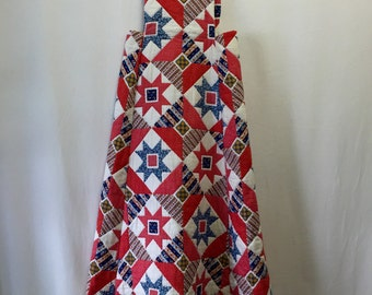 70's Quilted Maxi Jumper