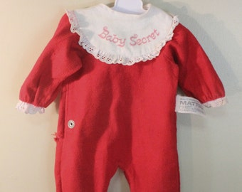 Original Baby Secret Doll Pajamas 1960s Mattel Need Mending