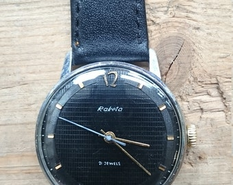 Vintage watch Raketa, mechanical watch, men watch, mens watch