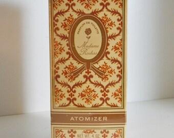 Vintage French Perfume Madame Rochas Parfum de Toilette Atomizer Mid Century Vanity Fragrance