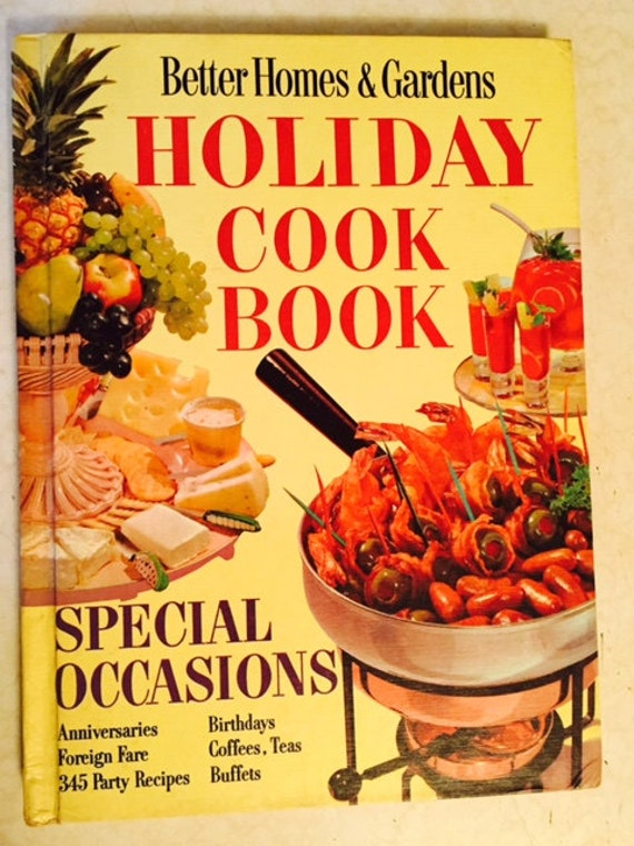 Vintage Cookbook Holiday Recipes Images Retro Better Homes And