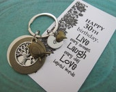 30th Birthday Gift | 30th Birthday Gift For Her | 30th Birthday Card | Gift For Wife  | Best Friend Gift | Daughter Gift | Custom Key Chain