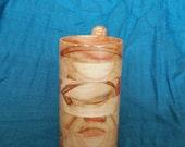 Handcrafted Wood Mug Flame Box Elder 12 oz Tankard, Beer Stein, Wood Mug, Beer Mug, Drinking Vessel, Ash Leaved Maple