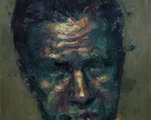 Head IV, Original Oil Painting