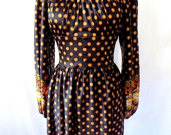Maxi Dress Off Shoulder Long Sleeve Size 6/8 for Fall & Winter
