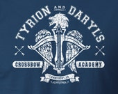 The Walking Dead Shirt Game of Thrones Shirt Mashup Tyrion Lannister and Daryl Dixon Crossbow Unisex Shirt Negan Shirt Michonne Shirt