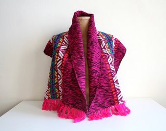 Hot Pink South American Scarf