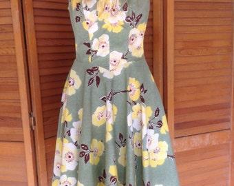 1940s Sun Dress De Weese Design