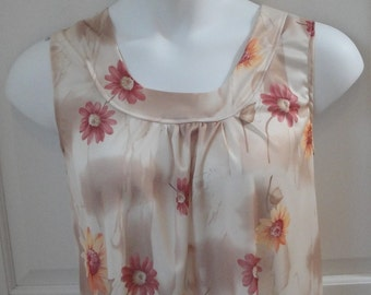 S  - Post Surgery Nightgown - Breast Cancer, Shoulder Surgery / Special Needs - Hospice, Elderly/ Breastfeeding / Stroke - Style Heidi