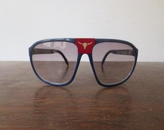 Vintage Sergio Valente Folding Sunglasses