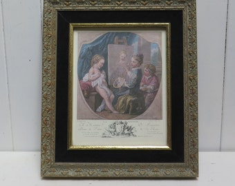 Framed Print - Children of the Court - Reproduction print of french painter Carle Van Loo