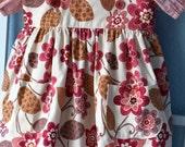 Girls Dress, Pink, two piece