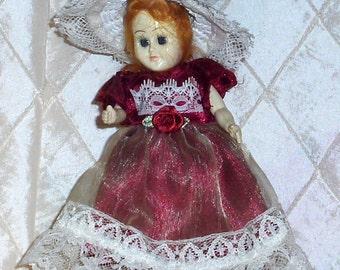 Vintage Doll, Sleepy Eyes, 1950s, Hard Plastic, C3