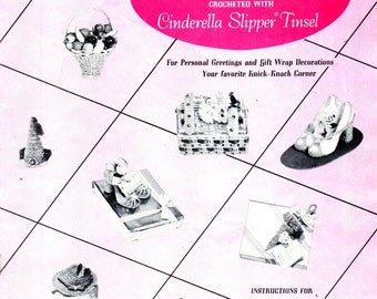 Kaminow CHARMING PETITE MINIATURES Crochet Instructions for Crocheting & Stiffening, No. 99