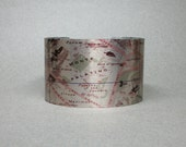 Rome Roma Italy Cuff Bracelet Vintage Map Gift for Men or Women