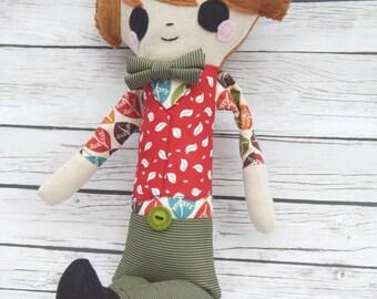 Boy Doll Oliver Little Chap