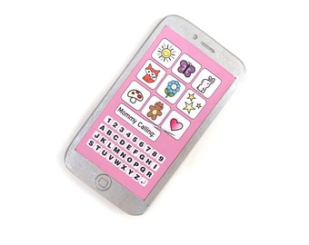 kids phone pretend play for children phone cell phone smart phone toy