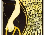 "Grateful Dead at the Fillmore West poster print - Psychedelic poster print  - 13""x19"" - 60s psychedelic art design - Fillmore West Concerts"