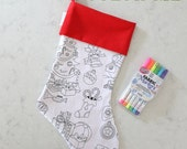 Color Me Christmas Stockings