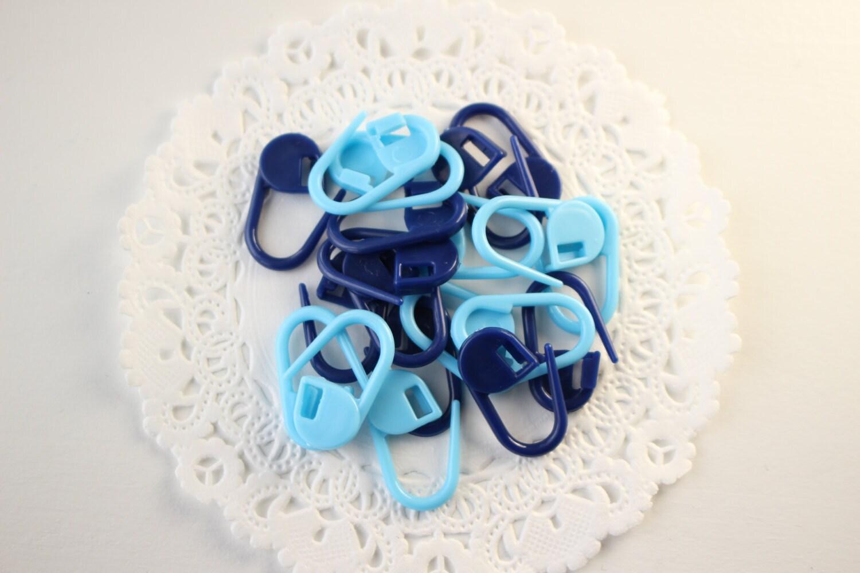 Knitting Locking Stitch Markers : Plastic Locking Stitch Markers for Knitting or Crochet in