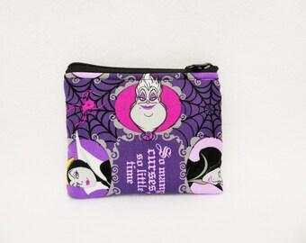 Disney Villains Coin Bag //  Disney