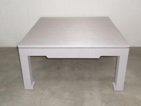 Grasscloth Coffee/Cocktail Table - Custom Built - Design Your OWN