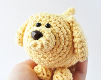 Crochet Dog Pattern, Amigurumi Dog Pattern, DIY Dog Craft