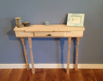 Console Table, Entry Way Table, Sofa Table, Side Table, Wood Rustic Distressed Décor