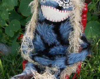 OOAK Lori's Little Monster Art Doll Fuzzy Thelma