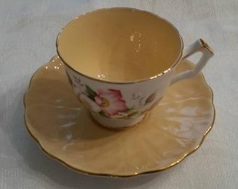 Aynsley Tea Cup and Saucer circa 1950's DR