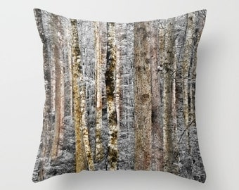 Camouflage Trees, Outdoor Pillow Case, Camo Trees, Home Decor Pillow Cover, Woodland Decor