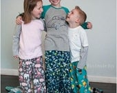 Pajama Party Pants: Pajama Pants Sewing Pattern