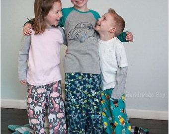 Pajama Party Pants: Pajama Pants Sewing Pattern
