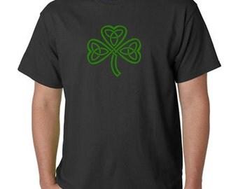 St. Patrick's day shirts - Shamrock shirt - celtic knot tshirt - small through xxxl - irish gift