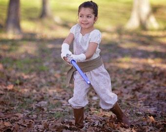 Rey Costume, Rey Romper, Star Wars Costume,