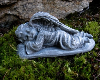 Angel Statue, Cherub Angels, Garden Decor, Sleeping Angels Pair, Concrete Angel, Garden Angel, Angel Figure, Cement Angel, Cherub Angels,