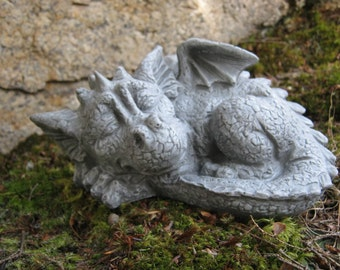 Dragon Statue, Concrete Dragon, Cement Dragons, Garden Dragons, Concrete Statues, Fantasy, Draco, Garden Statues, Garden Decor And Art