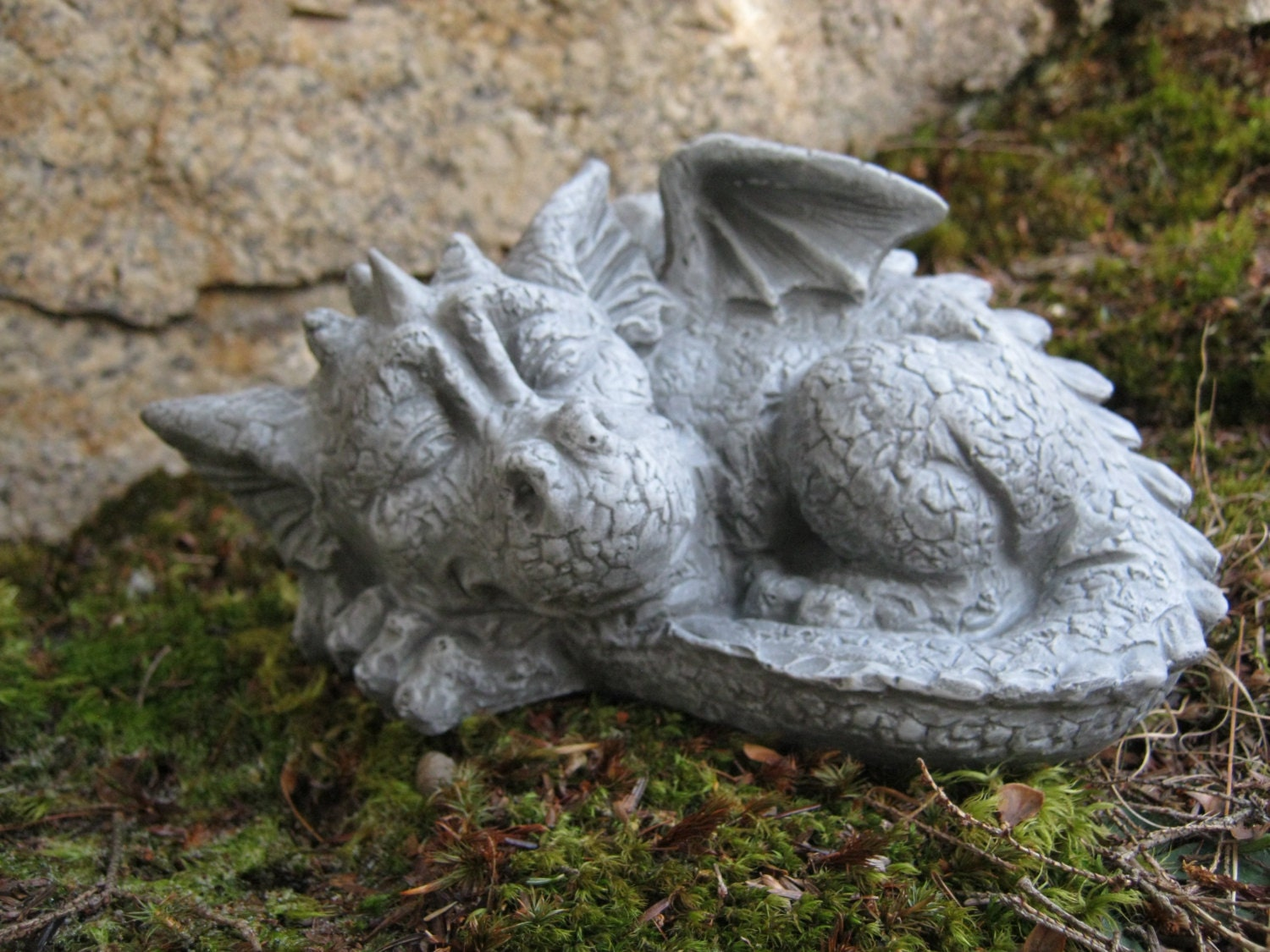 Dragon Statue Concrete Dragon Cement Dragons Garden