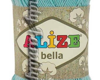 Cotton Baby Yarn. Light Weight, Natural Cotton Alize Bella. Colour of your choice. Set of 5 skeins. Wholesale. DSH