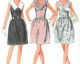 Bust 36-UNCUT 1968 Misses' Dress McCall's 9248 Size 14