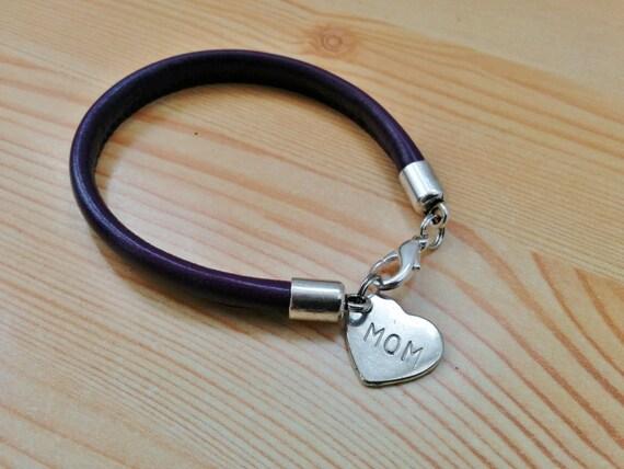 Mama bracelet, papa bracelet, mom bracelet, dad bracelet, daddy bracelet, mommy bracelet, mother bracelet, father bracelet, leather bracelet