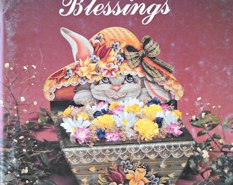 Count Your Blessings Volume 2 Decorative Painting Book, by Chris Thornton, Vintage 1987