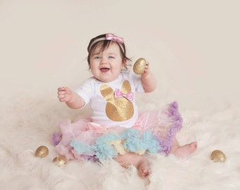 easter girl outfit, easter dress, my first easter, easter tutu , easter tutu outfit, baby girl easter, bunny shirt, 1st easter bodysuit