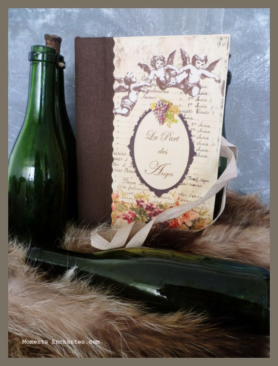 Saint Valentin Wine book very nice journal write in French grape fruit vintage pictures organize cellar