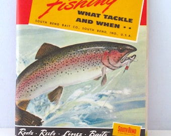 Vintage South Bend Fishing and Tackle Catalog